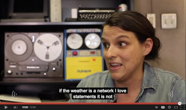 weather is a network