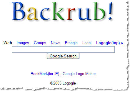 Google is a play on the term googol which means