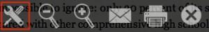 New Reader Toolbar