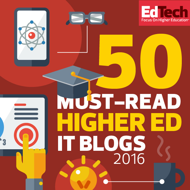 50 Must read higher ed IT blogs badge
